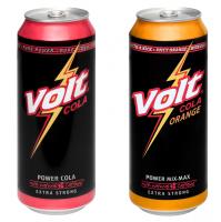 Mischkarton | 24 x 0,5L VOLT Cola + 24 x 0,5L VOLT Cola-Orange