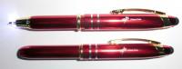 3in1 VOLT Leucht-Kugelschreiber aus Metall mit Kappe, Stylus und beleuchteter Schreib-Spitze