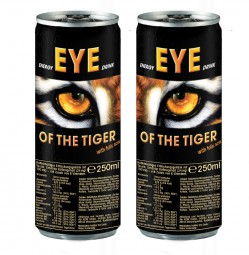 EYE OF THE TIGER ENERGY DRINK | 48 x 0,25L